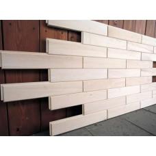 Стеновые панели осина сорт А 0,9м2