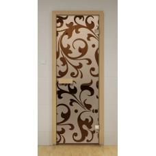 """Стеклянная дверь """"Версаль"""""""