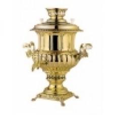 САМОВАР (С.2002/3) угольный 5л (Латунь)