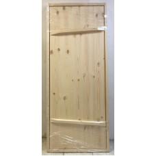 """Дверь Банная Клин Сосна 1,7 * 0,70 """"Деревянный Дворик"""""""