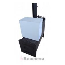 Печь Горизонтальная 530 -1м (с баком)