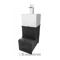 Печь вертикальная малая низкая с/в (с баком)