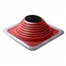 Мастер флеш №8  красный силикон+алюминей полность крашенный(178-330мм)