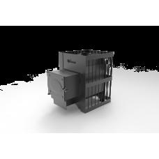 Печь банная Дачник чугунная дверка