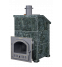 Печь банная Гром 30(П) Президент 1150/50 Серпентинит