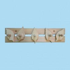 Деревянная вешалка «Берёзка»