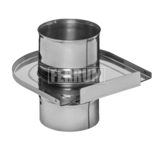 Шибер-задвижка (430/0,8 мм) Ф110