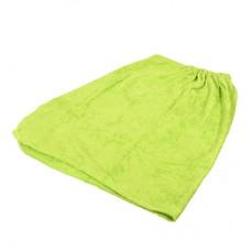 Махровая накидка для женщин, для бани и сауны 140х80см